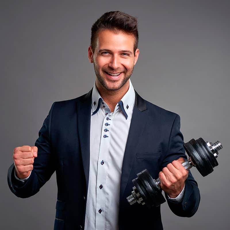 Profissional de sucesso no mundo do Fitness & Wellness